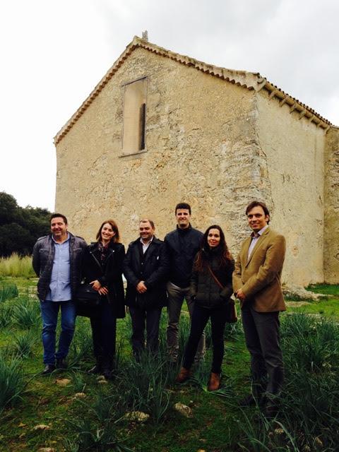 Visita càrrecs Consell a Bellpuig, 09-12-2015. A la imatges, T. Gili, M. P. Ginard, C. Bonet, M. Galan, A. Comes i F. Miralles